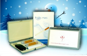 Christmas mini electronic cigarette kit.