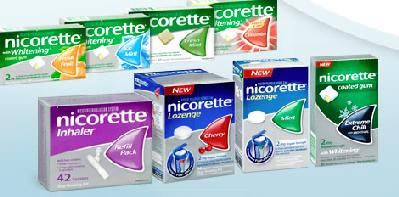 Nicorette products.