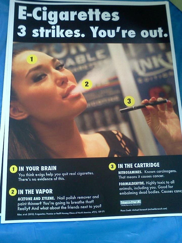 Three strikes and you are out.