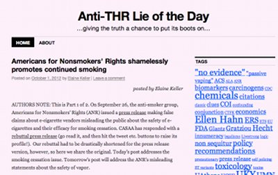 Carl Phillips Anti-Thr lies blog.