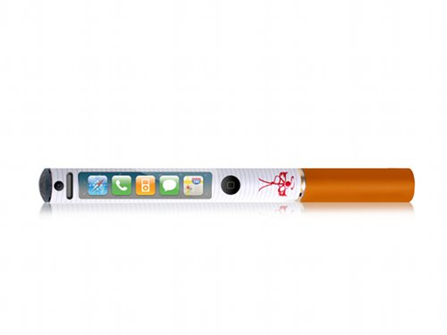 A mobile phone - in an electronic cigarette!