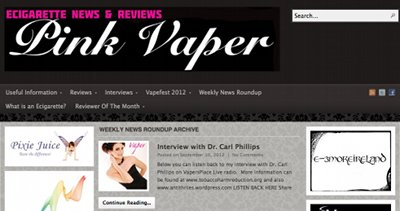 Pink spot vaper screenshot.