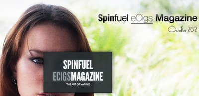 Spinfuel vaping magazine.