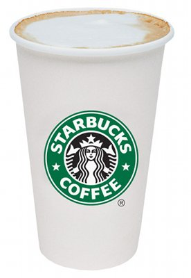 Starbucks latte.