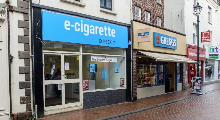 External picture of the E-Cigarette Direct shop in Neath.