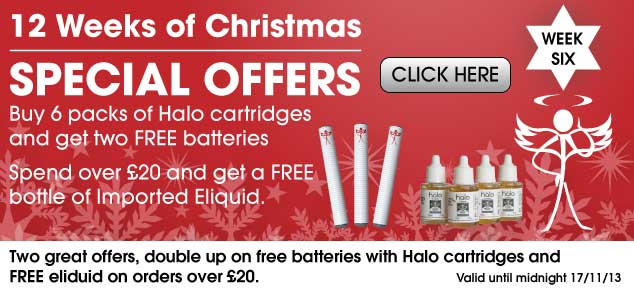 Week 6 Christmas Ecigarette offers