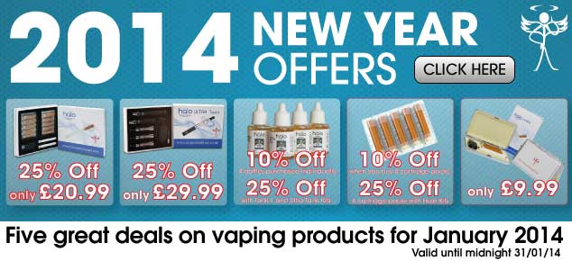 2014 Electronic Cigarette Deals