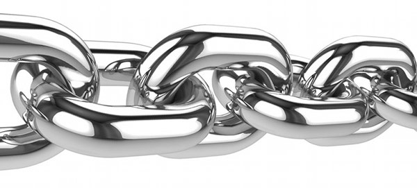 Image of links in a chain.