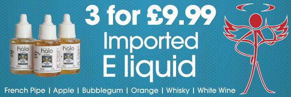 3 for £9.99 imported E liquid