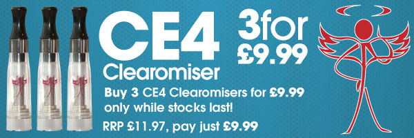 CE4 Clearomiser 3 for £9.99