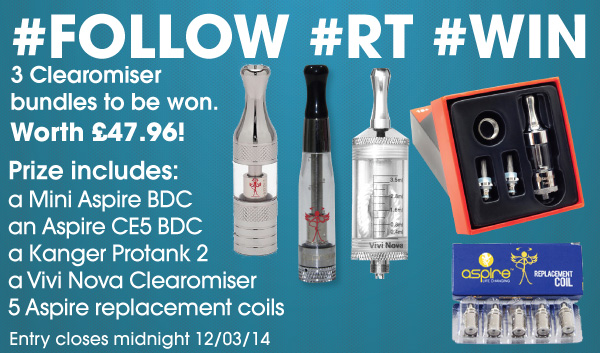 Super Clearomiser Twitter Competition