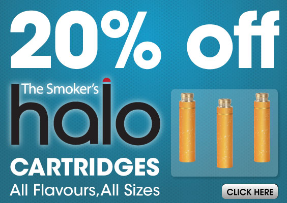 20% off Halo refill cartridges