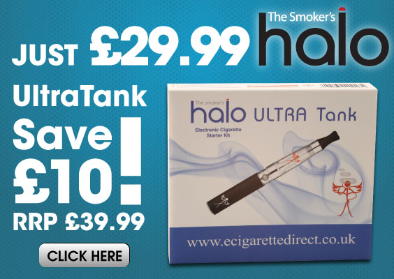 Halo Ultra Tank E-cig kit on offer