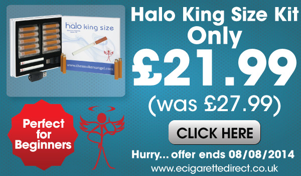 Halo Ecigarette Kingsize Kit Sale