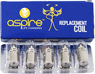 Pack of 5 Replacement Aspire Coils