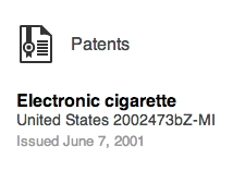 Screenshot of patent claim from Linked In.