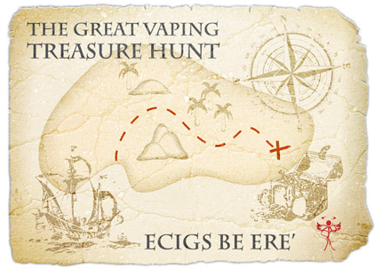 Vaping treasure hunt.