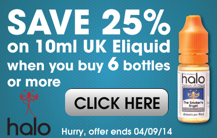 save 25% on UK eliquid