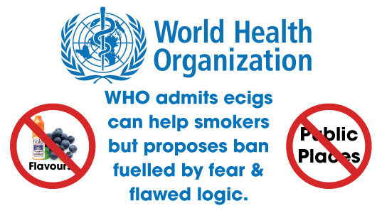 Ban vapers from using non tobacco flavours the who ecig report