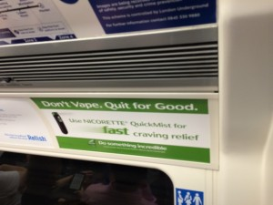 Don't vape big pharma ad. Reads Don't Vape: Quit For Good