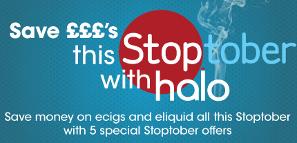 Stoptober Ecig Offers With Halo