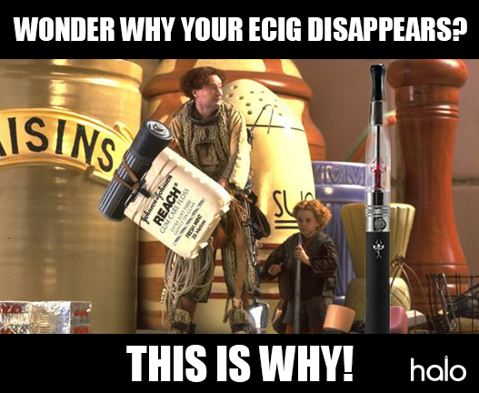 Borrowers - the reason behind your disappearing ecig?