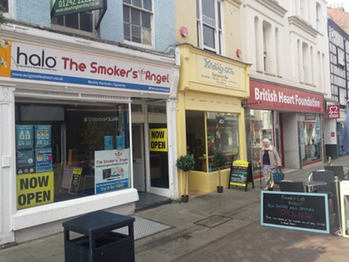 The Smoker's Angel shop in Gloucester.