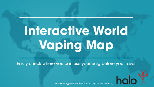 Interactive World Vaping Map: Quickly Check Where You Can Vape