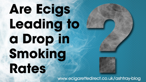 Are ecigs leading to a drop in smoking
