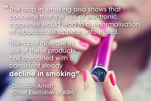 Arnott quote on smoking ecigs.