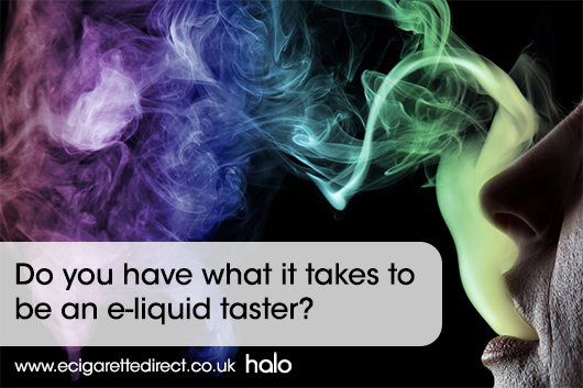 become an e-liquid taster