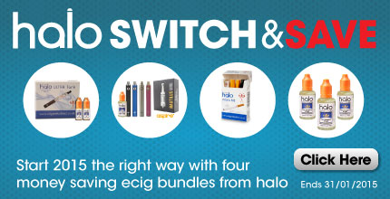 4 great ecig offers for 2015 from Halo