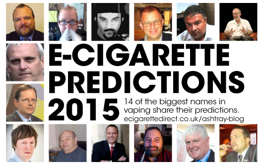 Top E-Cig Figures Predict The Future of Vaping in 2015
