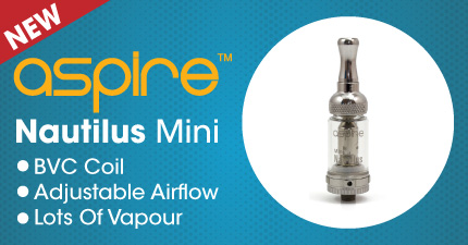 The NEW BVC Nautilus Mini from Aspire