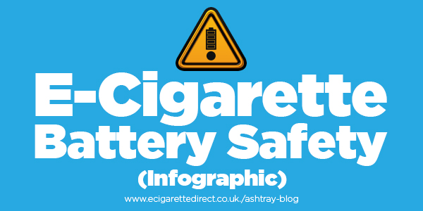 The 10 Rules of E-Cig Battery Safety (Infographic)