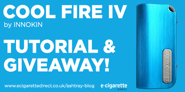 Innokin Cool Fire 4: Giveaway Plus Tutorial