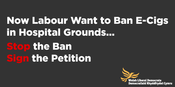Now Labour Want To Ban E-Cigs in Hospital Grounds…