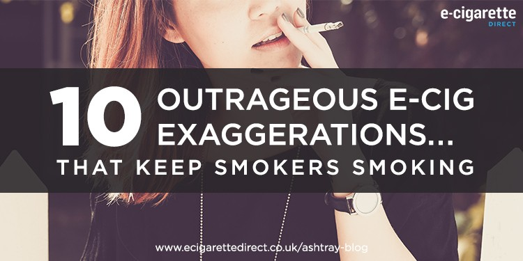 10 E-Cigarette Exaggerations