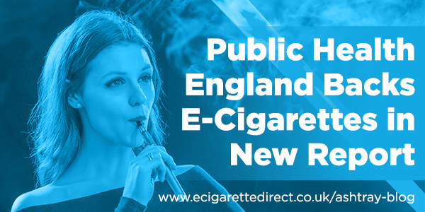 PHE Backs E-Cigs
