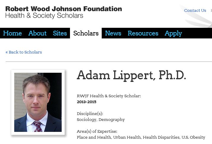 Adam Lipper on the RWJ website.