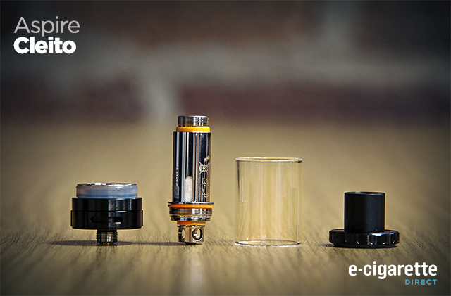 Aspire Cleito E-Cigarette Direct Tutorial - Coil Change