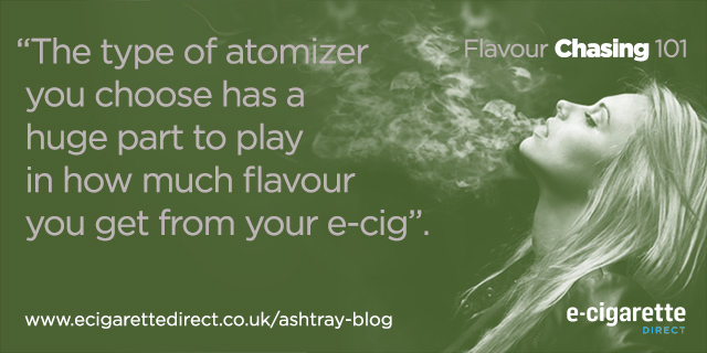 Flavour Chasing Content Atomiser