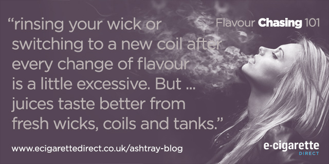 Flavour Chasing Content Coil