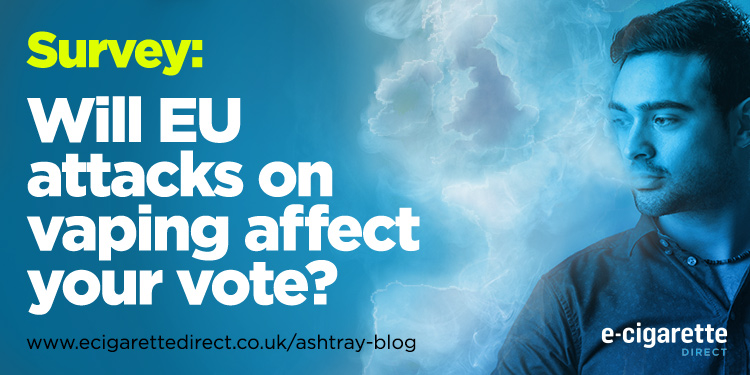 E-Cigarette Direct EU Vaping Vote Survey
