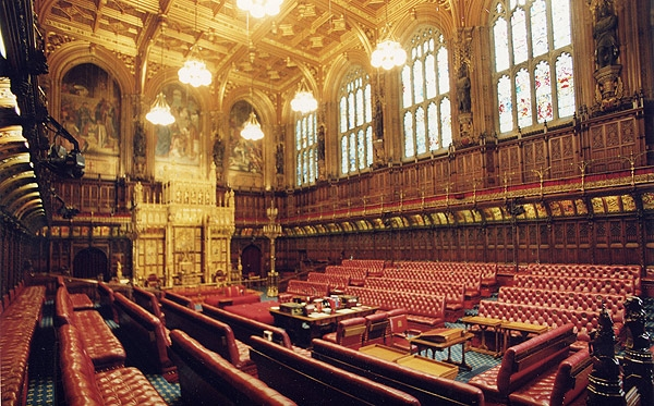 Empty house of lords.