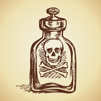 Scary Bottle of Poison