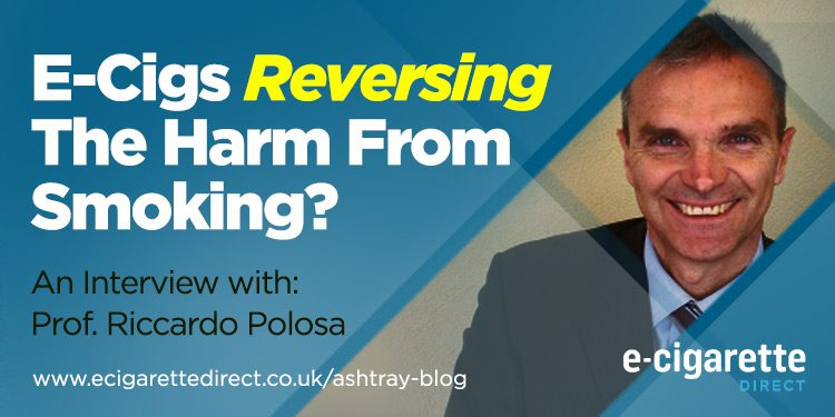 Polosa interview on the effect of vaping on blood pressure and asthma.