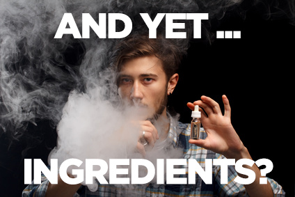you don't know what's in e-cigs