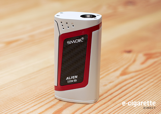 Smok Alien 220 Vape Mod: White and Red