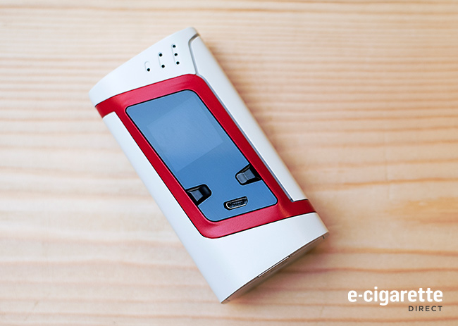 Smok Alien White and Red Back: Back View